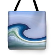 Riding The Waves Tote Bag