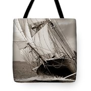 Riding The Wind -sepia Tote Bag