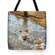Riffles In The River Tote Bag