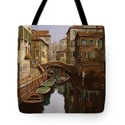 Riflesso Scuro Tote Bag by Guido Borelli