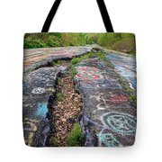Rift In The Former Route 61 Tote Bag