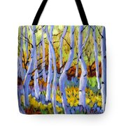 Rigaudon Of Aspens Tote Bag