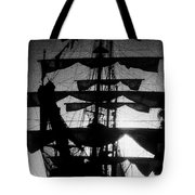 Rigging And Sail Tote Bag