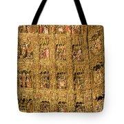 Right Half - The Golden Retablo Mayor - Cathedral Of Seville - Seville Spain Tote Bag