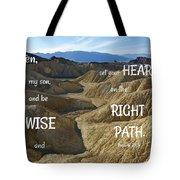 Right Path Tote Bag