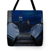 Right To The Top Tote Bag