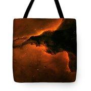 Right - Triptych - Stellar Spire In The Eagle Nebula Tote Bag