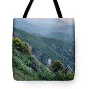 Rim O' The World National Scenic Byway II Tote Bag