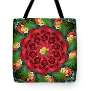 Ring Around The Roses Tote Bag