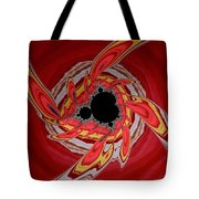 Ring Of Feathers - Abstract Tote Bag