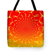 Ring Of Fire Dancers Tote Bag