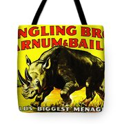 Ringling Brothers Barnum And Bailey Circus Tote Bag