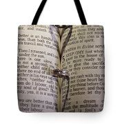 Rings From The Heart Tote Bag