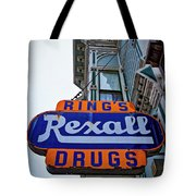 Ring's Rexall Drugs  Tote Bag