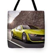 Rinspeed Etos Concept Self Driving Car Tote Bag