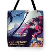 Rio, Brazil, Pan American Airways, Dancing Woman Tote Bag