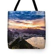 Rio De Janeiro Sunset Tote Bag