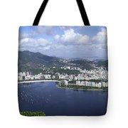 Rio De Janiero Aerial Tote Bag
