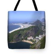 Rio De Janiero Morning Tote Bag