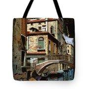 Rio Degli Squeri Tote Bag by Guido Borelli