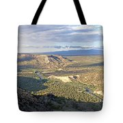 Rio Grand Near White Rock Tote Bag