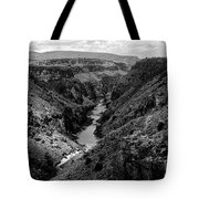 Rio Grande Carved Canyon 2 Tote Bag