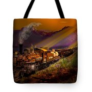 Rio Grande Early Morning Gold Tote Bag