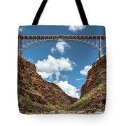 Rio Grande Gorge Bridge Tote Bag