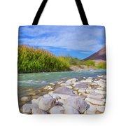 Rio Grande Hoodoos Trail Head Tote Bag