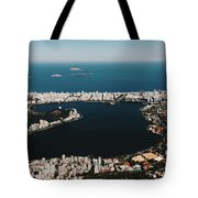 Rio In Contrast Tote Bag