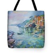 Riomaggiore Cinque Terre Italy Tote Bag