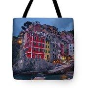 Riomaggiore In Cinque Terre Italy Tote Bag