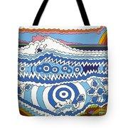 Rip Tide Tote Bag by Rojax Art
