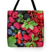 Ripe Of  Fresh Berries Tote Bag