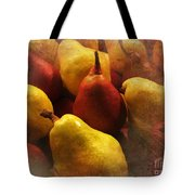 Ripe Pears And Two Persimmons Tote Bag