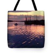 Ripple In Still Waters  Tote Bag
