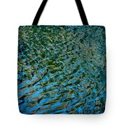 Ripple Reflections Tote Bag