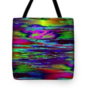 Ripple Sunset Tote Bag