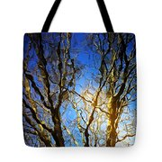 Ripple Tree Tote Bag