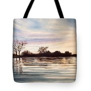 Rippled Glass Tote Bag