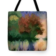 Rippled Sunset 2 Tote Bag