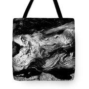 Rippled Wood Tote Bag