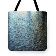 Ripples And Reflections Abstract Tote Bag