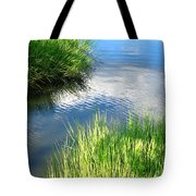 Clear And Gentle Flow Tote Bag