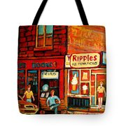 Ripples Ice Cream Factory Tote Bag