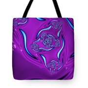 Ripples In A Purple Pond Tote Bag