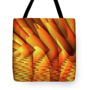 Ripples In Gold Tote Bag