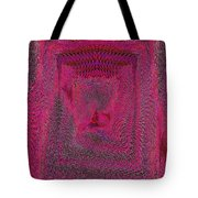 Ripples In Red Tote Bag