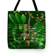 Ripples In The Mirror Tote Bag