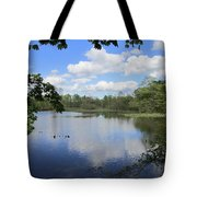 Ripples Of Land And Water Tote Bag